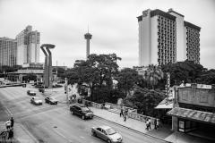 8,100 square feet of downtown San Antonio.
