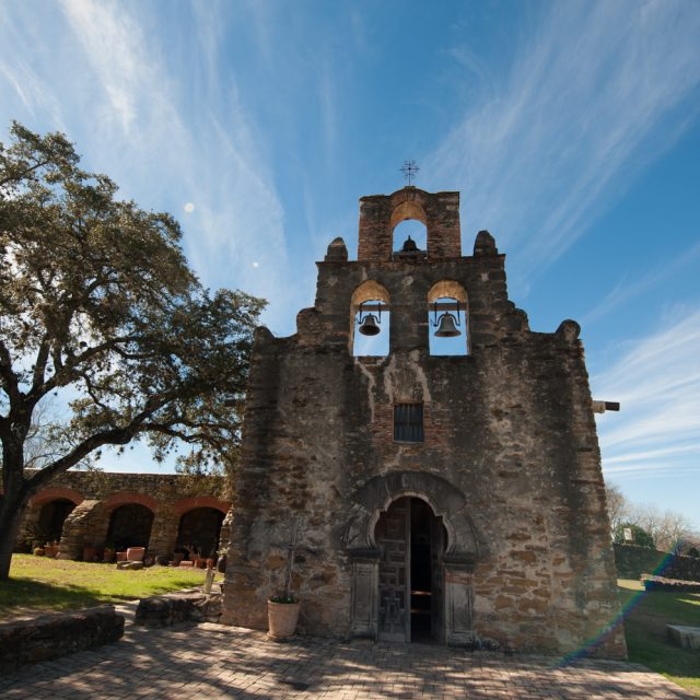 Mission San Francisco de la Espada (1731). San Antonio Missions National Historical Park.