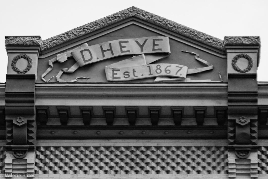 D. Heye Building. Est. 1867.
