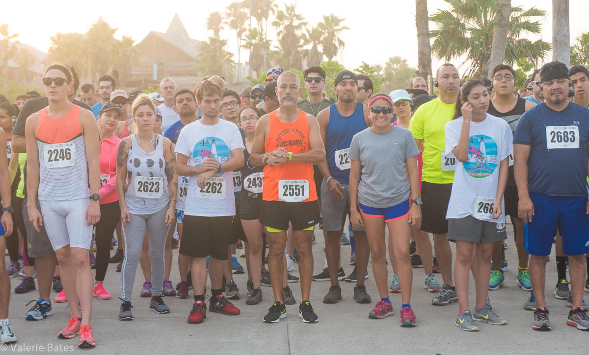 2018, 4th Annual Summer Longest Causeway Run & Fitness Walk. Starting line.